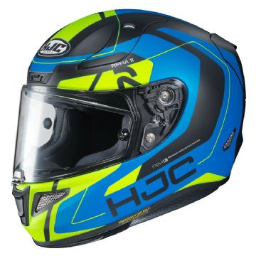 HJC RPHA 11 Chakri Blue & Fluo Full Face Motorcycle Helmet Pinlock Included